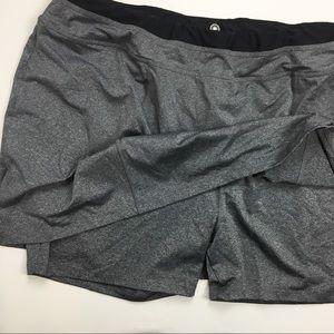 c2c550aa100 FullBeauty Shorts - FullBeauty Grey Athletic Plus Size Sport Skirt